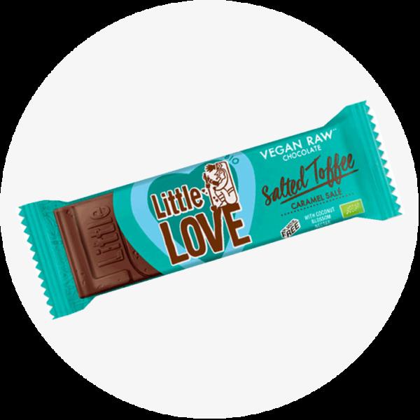 little love salted toffee schokolade