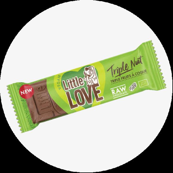 little love triple nut schokolade