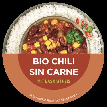 bio chili sin carne planet v frischegericht